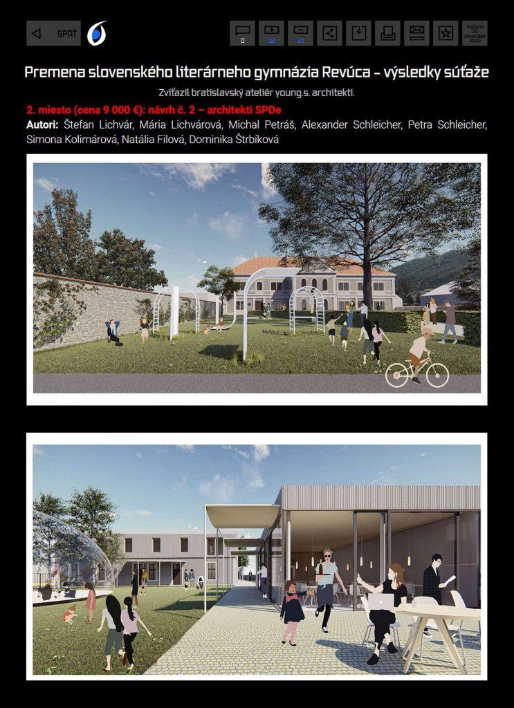 sutaz Revuca / SPDe architekti