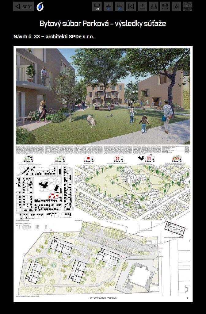 sutaz Parkova / SPDe architekti